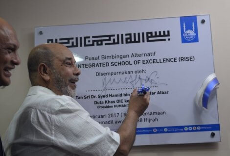 Rohingya Integrated School of Excellence (RISE) to produce qualified Rohingya students.