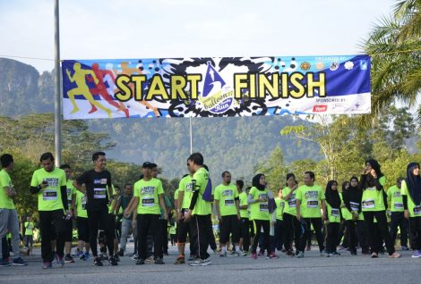 IIUM - IRM Charity Run, Sponsoring the Humanity Project