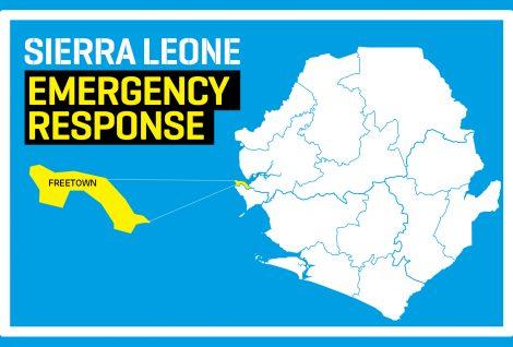 Emergency Response As Sierra Leone Mudslide Claims Almost 400 Lives