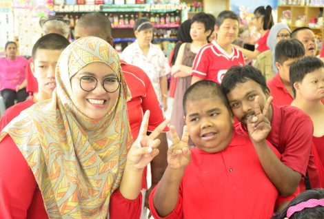 IRM Sharing Joy with The Disabled