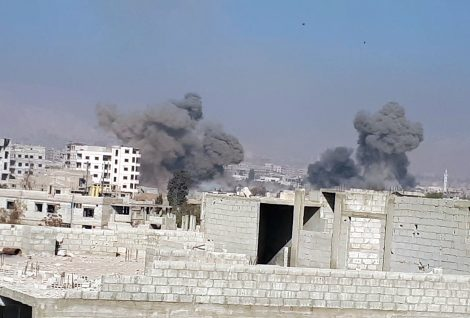 Over 400 Died in Airstrikes   Ghouta, Syria