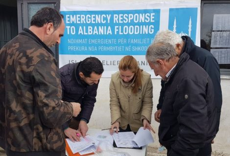 Albania Affected by Floods.