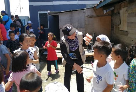 IRM Visits Isolated Village in Sabah