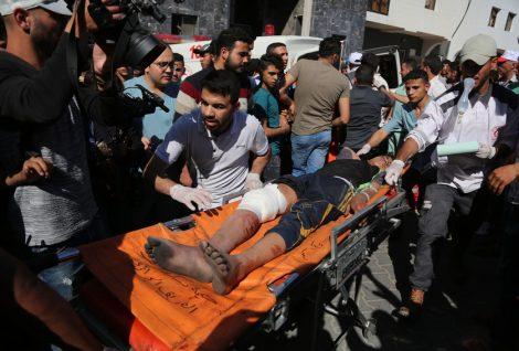 40 Injured in Airstrikes