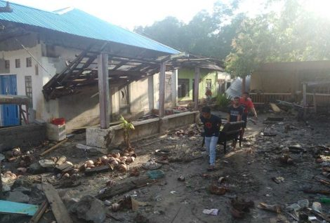 Sulawesi Hit by Tsunami