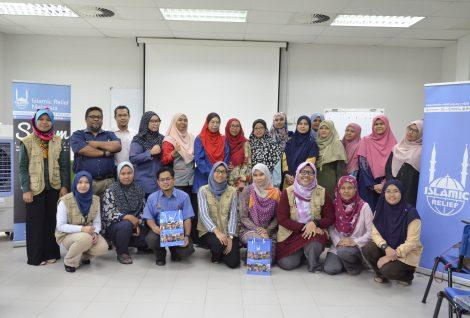 Public Servant Utilising Volunteer Induction Course